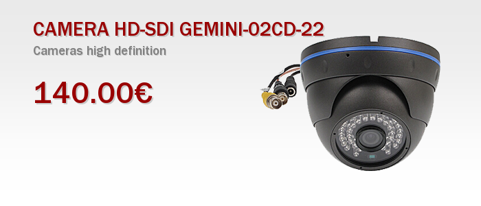 CAMERA HD-SDI GEMINI-02CD-22