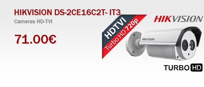 HIKVISION DS-2CE16C2T- IT3