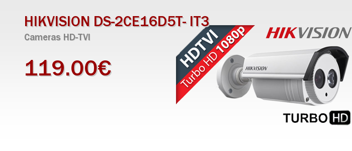 HIKVISION DS-2CE16D5T- IT3