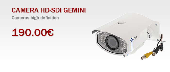 CAMERA HD-SDI GEMINI-022-43W
